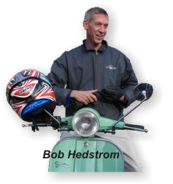 Bob Hedstrom owner of Scooterville
