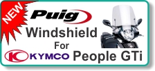 NEW PUIG Windshield for Kymco People GTi
