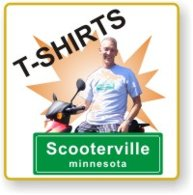 Scooterville T-Shirts - Get chased by better looking dogs